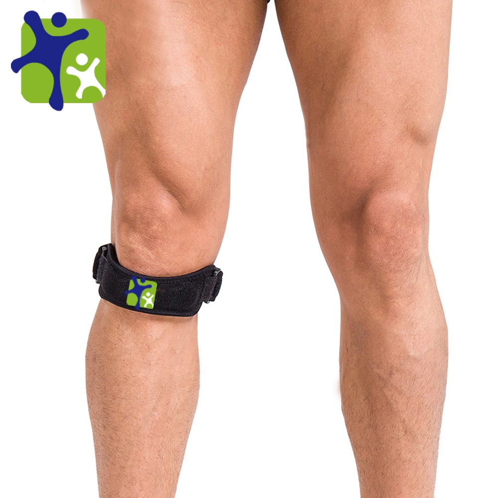OEM Neoprene Hot selling adjustable knee strap for <strong>fitness</strong> ,outdoor sports