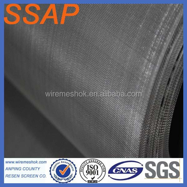 300 Mesh/inch High precision Nickle wire mesh (factory)