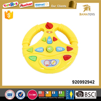 B/O babies plastic toys steering wheel