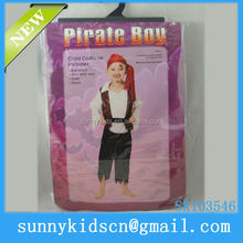 Halloween costume china wholesale children pirate costume children carnival costume