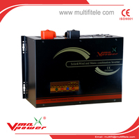 Vmaxpower 2016 hotsale DC to AC pure sine wave solar hybrid inverter 5000W for home use