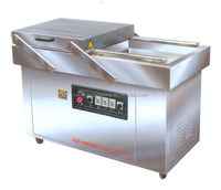 double chamber vacuum sealer for meat packing