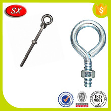 Custom Galvanized Hardware Lifing Eye Bolt With Nut Made of Stainless Steel in Dongguan Shuangxin