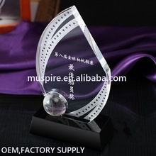 Best quality fast delivery crystal 3d laser engraving block award