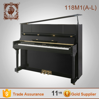 Duke high quality Flexible keyboard children wooden upright piano 118M1(A-L)