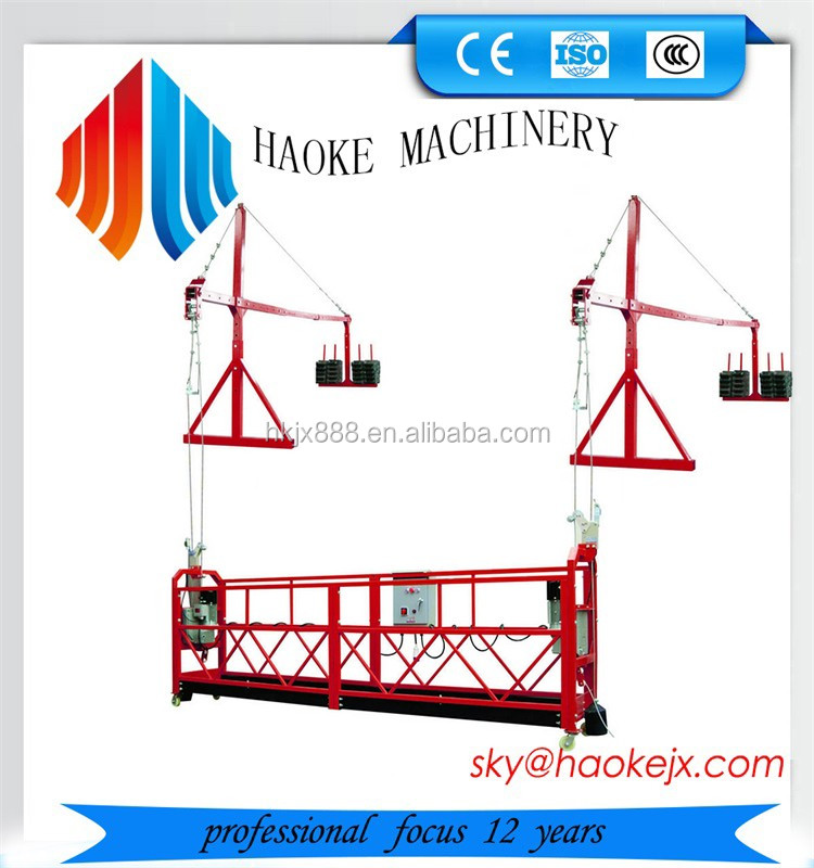 Affric and Russia Window Cleaning Suspended Access lifting Platform/Cradle/Gondola