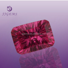 Shinning fake loose synthetic millenium cut cz gems