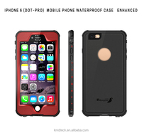 For iPhone 6 6s Waterproof Protective Phone Case Cove, 360 Full Cover Ultra Thin Soft TPU PC Hybrid Case for iPhone 6 Shockproof
