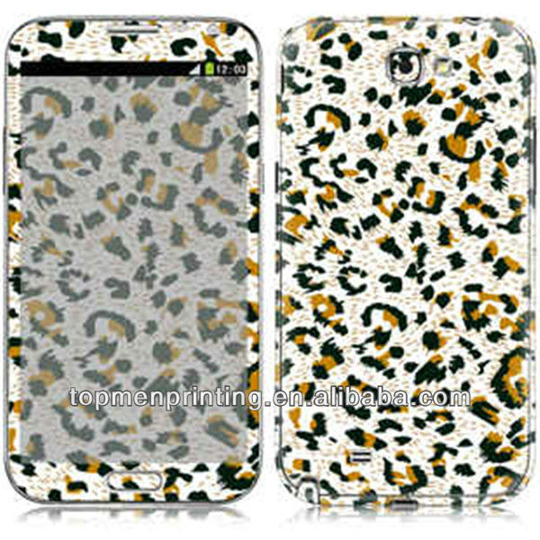Customized all kinds of designs cover skin for samsung galaxy note 3,OEM