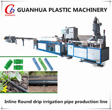 China PE drip irrigation pipe making machine plastic extruder