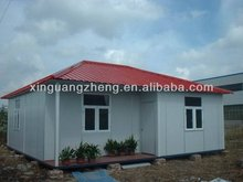Steel structure prefab simple Civilian rooms with low price