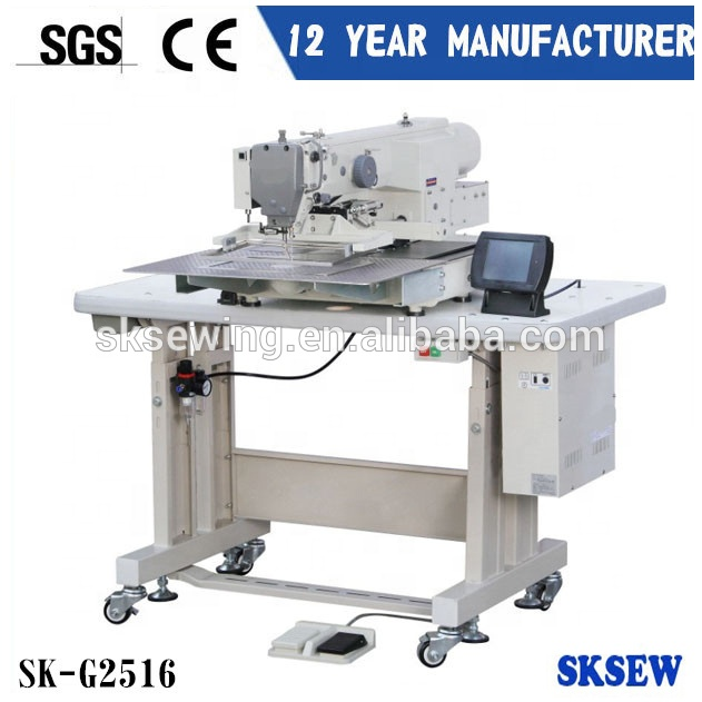 Heavy duty automatic Leather industrial computer pattern sewing machine