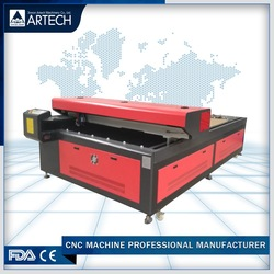 China Supplier metal and nometal CO2 laser cutting machine ART2513LM