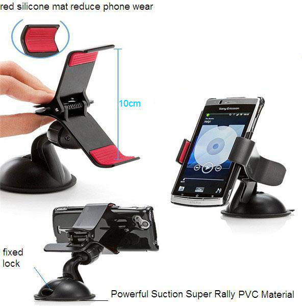 high quanlity 360 degree rotation universal car phone holder