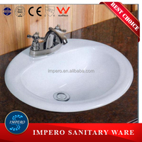 F-0001 impero foshan ceramic bathroom above sink