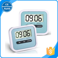 Mini Portable Digital Kitchen Timer LCD Display Countdown Up Clock Loud Alarm Sport Stop Watches with Magnetic Backom