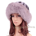 CX-C-156E Women New Design Fox Fur And Mink Fur Winter Fur Hat