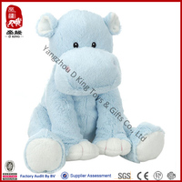 2014 best product for import soft toy hippo plush hippo stuffed toys animal