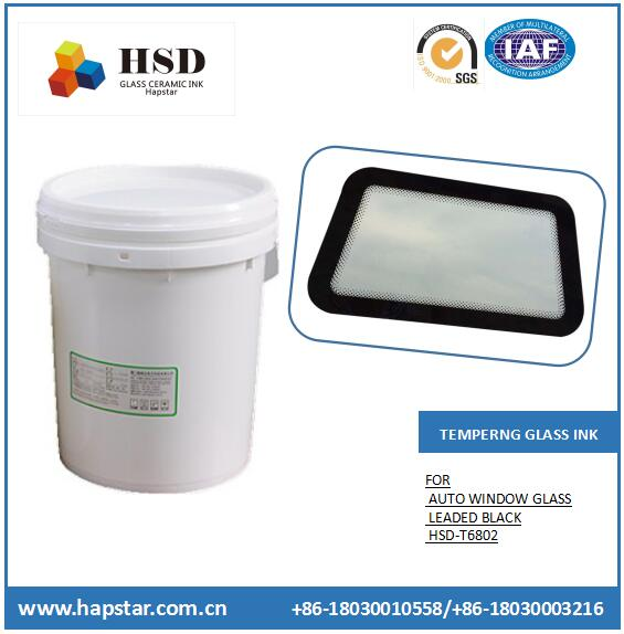 Tempered Glass Enamel Black Auto Glass Paint Leaded Ceramic Ink