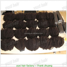 Top selling mongolian kinky curly hair