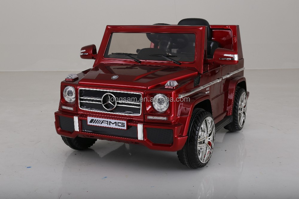 Cheap Licensed Mercedes-Benz G65 AMG Kids Toys Ride on Car Electric RC Battery Operated Children Car