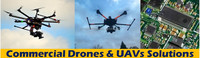 Commercial Drones and UAV Solutions