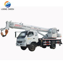 10t T-king Chasis truck crane,not used truck mounted crane,Manufacture directly supply