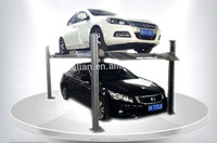 Exports used four post car lift for sale of the United States