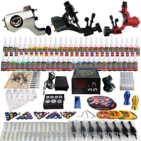 2017 professional tattoo starter machine kit complete