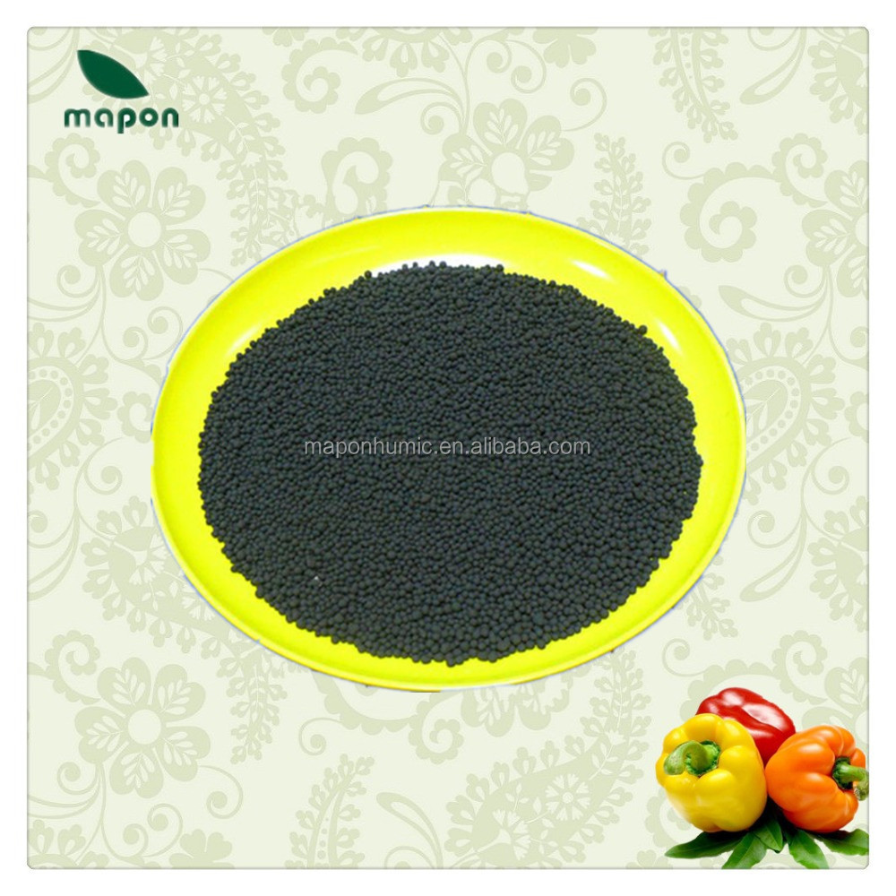 humic acid granular from mineral leonardite for plant growth