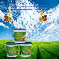 Suit All Kinds Of Building Roof Green Polyurethane Waterproof Paint