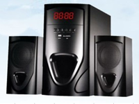 2.1 with USB/SD/FM/LED display/ Remote home speaker