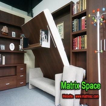 Murphy Wall Bed Sofa Murphy Bed With Bookshelf , Sofa Wall Bed
