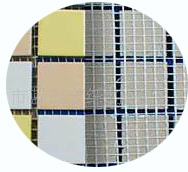 good quality fiberglass mesh 3d spacer mesh fabric for paving mosaic
