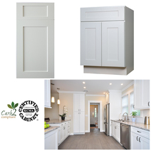 China Made Flat Pack Ready Made Kitchen White Shaker Cabinets