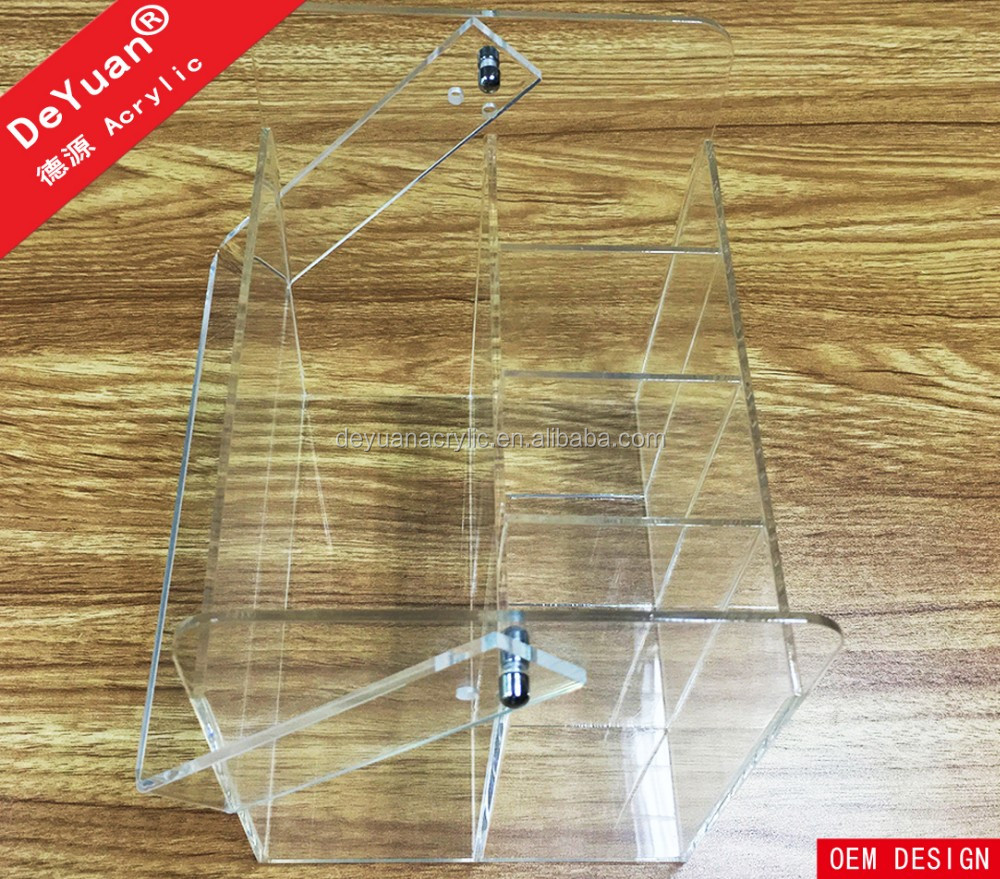 Clear Custom Acrylic Carrier with Handle Plexiglass Box