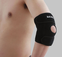 elbow support pad brace with springs