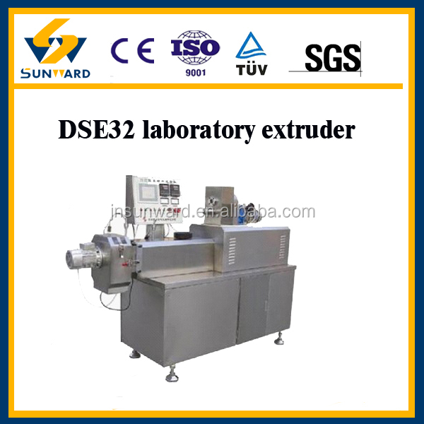 New design fish food lab screw extruder, test food machine