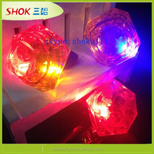 Hot selling new led plastic rings party favors