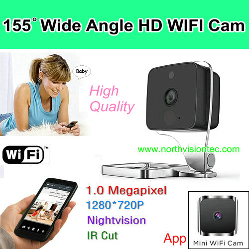 folding new design fashion home security wifi recording mini camera