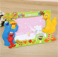 soft plastic innovative cartoon design picture photo frame