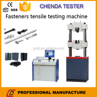 WEW-1000B Conctruction materials industry with computer screen hydraulic universal testing machine for fastener safety test