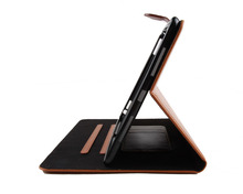 Hot selling bamboo wood leather case New factory price for ipad pro