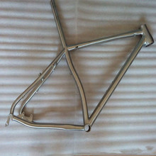 non-folding isp titanium frame for road bicycle