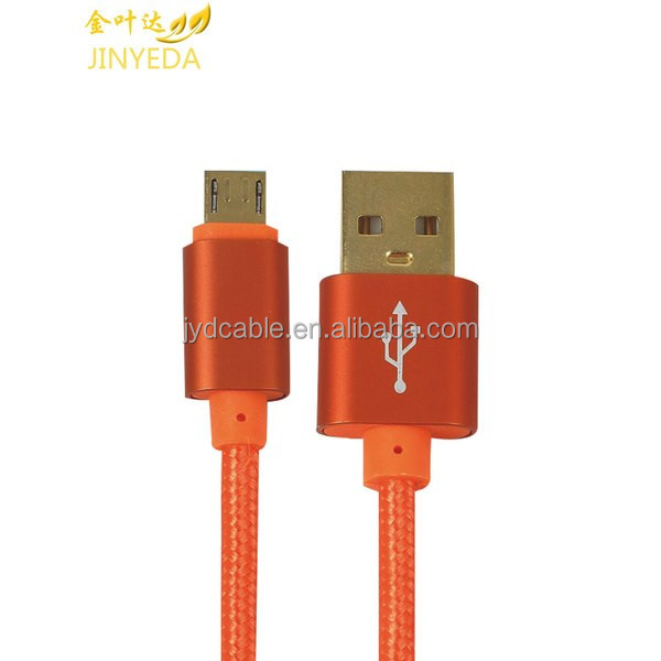Jinyeda cable manufacturer custom 24awg 2c usb cable for iphone cord charger cables