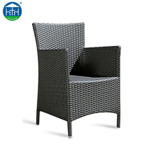 DW-CH001 Wholesale Outdoor Garden Plastic Wicker Furniture Restaurant Pe Rattan Chair