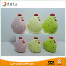 Easter Occasion colorful ceramic Chicken for Easter Event
