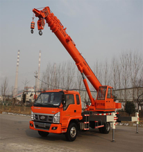 10 Ton Foton Truck Chassis Used Jib Boom Crane for sale