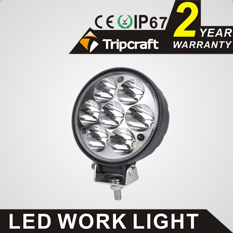 "Best product!!! 7 "" 21w led Truck light,offroad led Truck light auto parts for SUV,ATV,Boat"