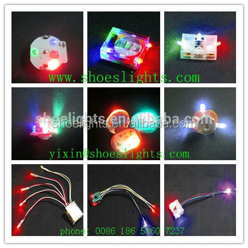 waterproof led flash shoe charms for kids shoes